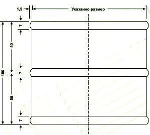 Секция SBOW монтируется в канал прямоугольного воздуховода.